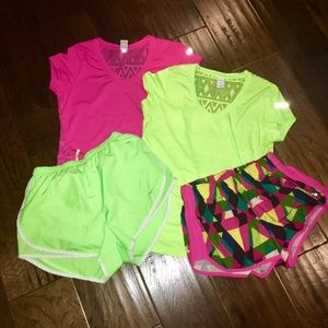 Bundle of 🏃🏼♀️athletic tops & shorts 🏃🏼♀️